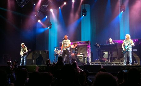 Deep Purple rocked the Brisbane Entertainment Centre on Tuesday night.
