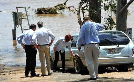 FLOOD RELIEF ANNOUNCED: Australia's Prime Minister Julia Gillard witnessed the Devastation of Australia Day floods, and has today announced further funding for those affected.