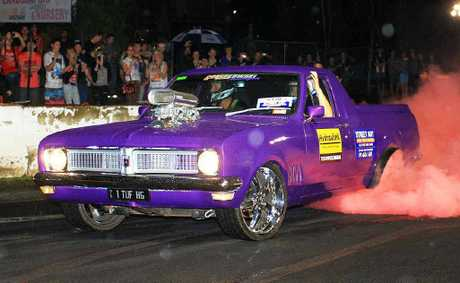 RUBBER SHREDDER: The Gatton Street Sprints will be held over the weekend of March 9-10.
