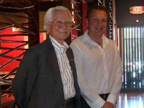 Mijo Katavic (right) with Masaaki Imai, the &quot;Lean Guru&quot; and pioneer of the Kaizen philosophy. 