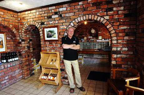 Brookfields Winery is a family affair run by Peter (pictured) and Sharon Robertson. PHOTO/PAUL TAYLOR