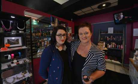 Emily Cox and Heather MacLean-Moodie of Tan Addiction Uni-sex Tanning and Glamour Studio in Caloundra.