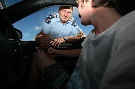 Acting Senior Sergeant Wayne Hunter said police targeted young drivers at the major Western Bay secondary schools last week.