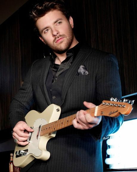 Nashville country music singer-songwriter Chris Young performing at CMC Rocks the Hunter 2013.