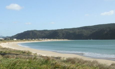 Whangamata, on the southeast coast of the Coromandel.