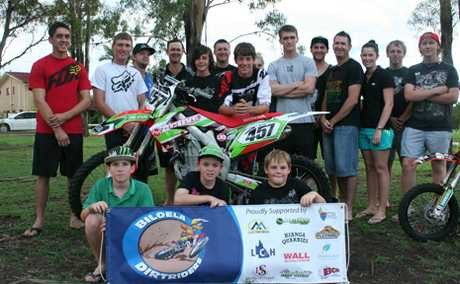 COME AND TRY: Biloela Dirtriders club are ready to start their season with a come and try day this weekend.
