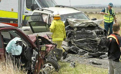 Emergency services workers and police face the horror of road trauma.