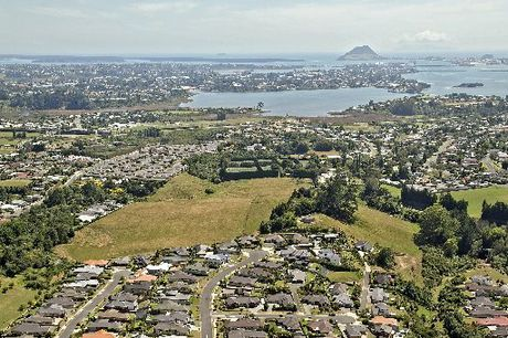 The Ohauiti property on the city's outskirts.