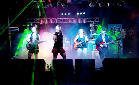 All-girl AC/DC cover band Her Way to Hell.