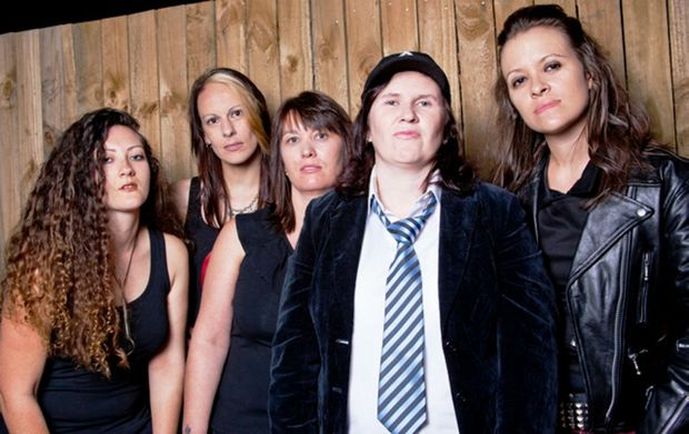 All-girl Ac/DC cover band Her Way to Hell