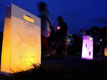 Emotions ran high at the annual Relay For Life event with hoards of passionate supporters turning out to raise funds for The Cancer Society. The 20-hour event, which began on Saturday, attracted 67 teams and more than 1000 participants who walked, ran and even skipped around the track. Photos: Paul Taylor