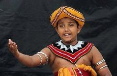 CULTURAL DANCE: Senuke Sudusinghe, Sri Lankan Dance Academy, Wellington, performs at the International Cultures Day HBT130067-17.JPG