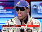 Rodman speaks about friendship with North Korean leader