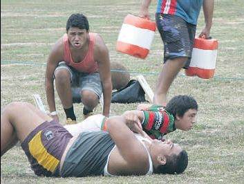 Te Aute 1st XV boys desperately need a coach.