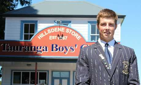 Mungo Mason is a senior member of the Tauranga Boys' First XV and is a New Zealand water polo rep.