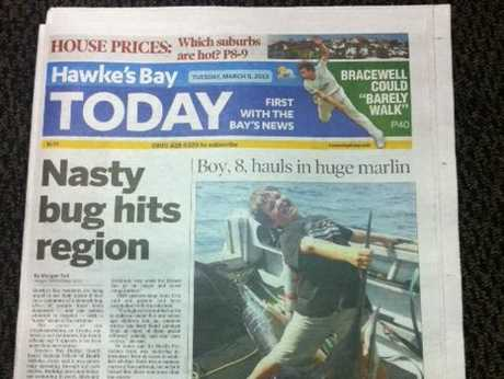 The Hawke's Bay Today has a new look