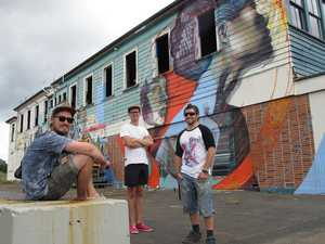 Street art transforms Kaikohe Hotel