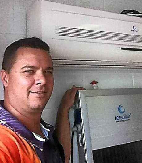 SUN SMART: CQ Solar owner Casey Triplett educates others on the energy efficiency of solar.