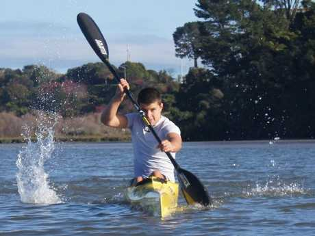 Taris Harker has excelled in both surf ski boats and kayaks.