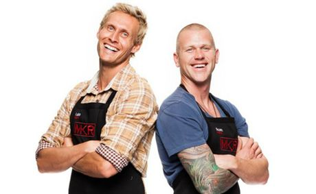 MKR contestants Scott Gooding and Luke Hines are blazing a healthy eating trail.