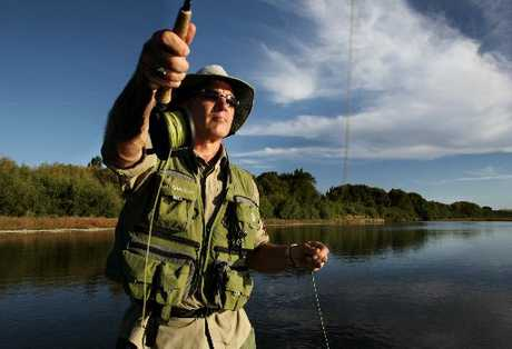 Napier man Nic Haakman won't eat trout from the Tukituki River while warning signs are out.
