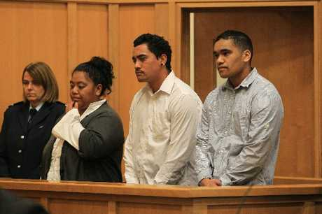 Phillippa Morehu, 37 (left), Haki Davey, 19, and Hetaraka Reihana, 21.