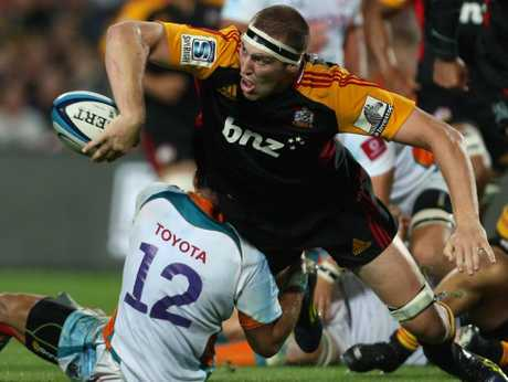Brodie Retallick was everywhere when the Chiefs got organised to thrash the Cheetahs 45-3 in a home Super 15 rugby clash.