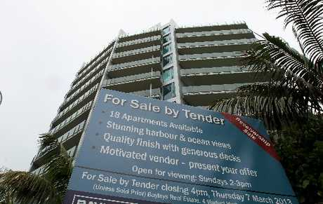 Eighteen of the Pacific Apartments, in Mount Maunganui are up for tender.
