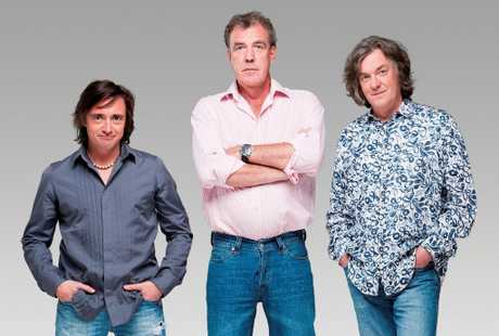 Fans waited for hours on 90 Mile Beach to see the stars of Top Gear yesterday.