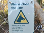 A WOMAN has been admitted to Hervey Bay Hospital following a dingo attack on Fraser Island.