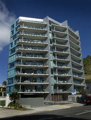 Pacific Apartments, Mount Maunganui.