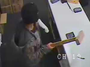 Attempted robbery of Crazy Clearance and Convenience Store