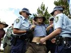STRONG-ARM tactics by police at CSG protest sites also provided safety to protesters who adhered to the law, NSW Police Commissioner Andrew Scipione has said.
