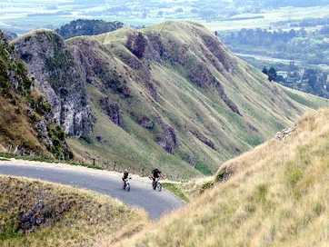 The Triple Peaks Challenge, organised by the Kiwi Adventure Trust, celebrated its 25th anniversary with another successful 47km cross-country event at the weekend.  Pictures: Duncan Brown