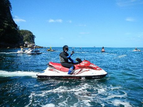 Jet Ski riders raised nearly $60,000 for charity in a first-of-its-kind event that launched from Tauranga.