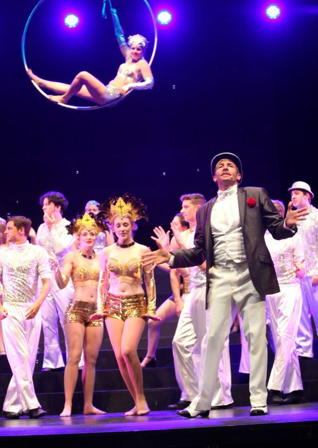 Cast of Chicago. Photo Allan Reinikka / The Morning Bulletin