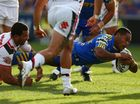 TROUBLED Parramatta halfback Chris Sandow may not play again this season after taking steps to address his gambling addiction.