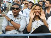 CELEBRITIES including Beyonce, Jay-Z and Michelle Obama have been warned to safeguard their bank accounts after hackers posted their private information online.