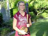 AT JUST 16, a Gatton teenager's talents in the field of softball have skyrocketed her into a national squad.