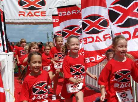 Parents and children racing together will feature in tomorrow's XRACE at Hamilton Gardens.