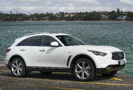 Nissan New Zealand will be watching how Australia takes to the high-end Infiniti range. 