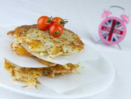 Flat Hash Browns