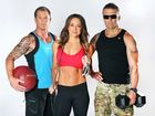From left, Shannan Ponton, Michelle Bridges and Steve &#39;Commando&#39; Willis star in the new TV series The Biggest Loser: The Next Generation.