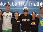 SIX elite athletes participating in this weekend&#39;s Mooloolaba Triathlon World Cup have offered their insights into what lies ahead.