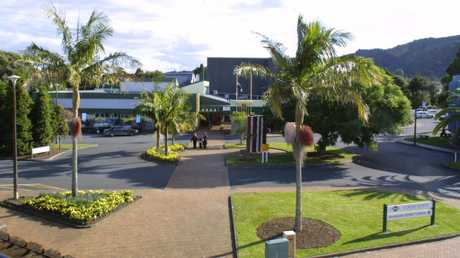 UNDER CONSIDERATION: The Whangarei District Council may move out of Forum North, headquarters for the city's administration since 1982. PHOTO/JOHN STONE
