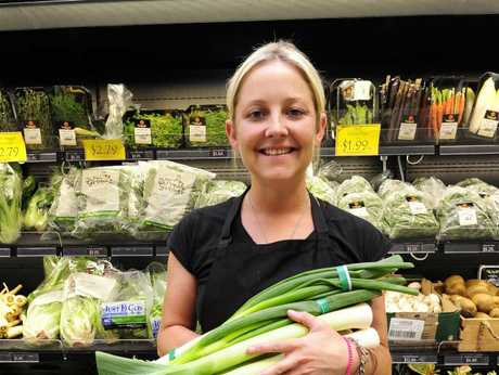Jo Blennerhassett is finding it hard to source spring onions, leeks and other vegetables.