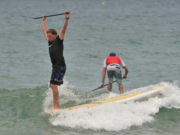Paddleboarder Beau Nixon was voted by My Daily News readers