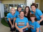 Gympie locals lose their locks for charity.