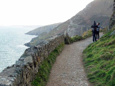 EXPLORE: The Bray to Greystones cliff walk offers some spectacular scenery south of Dublin, Ireland.