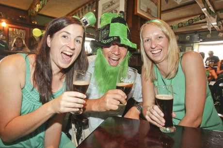 Hundreds of revellers packed pubs and bars at the weekend to mark St Patrick's Day, dressed in green, drinking Guinness and listening to festive Irish music.
